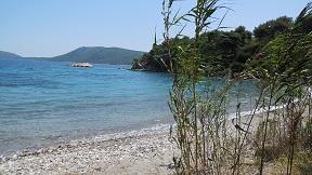 Agios Petros beach on the island of Alonissos in Greece