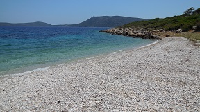Steni Vala beach on the island of Alonissos in Greece