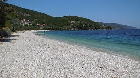 Glyfa beach on the island of Alonissos in Greece