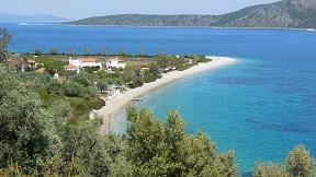 Agios Dimitrios beach, Alonissos, Greece