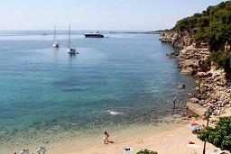 Ostria - Roussom Gialos beach, Alonissos, Greece