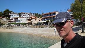 Alonissos Rousom Gialos beach