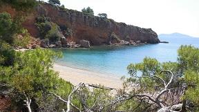 Alonissos Kokkinokastro beach