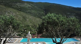 Andros hotels, Aegea Blue Villas & Suites in Zorkos Beach