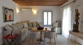 Andros hotels, Aegea Blue Villas & Suites in Zorkos Beach
