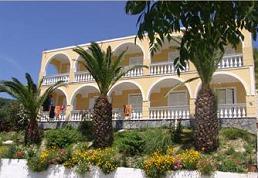 Corfu, Adriatica View in Gardeno Beach