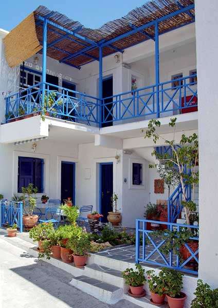Aegina hotels, Pension Electra