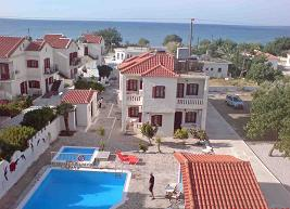 Aphrodite Beach Hotel & Apartments in Marathokampos, Samos
