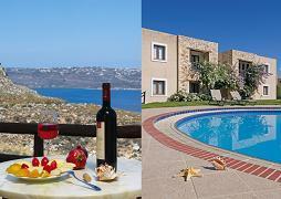 Megala Chorafia, Areti Hotel Apartments & Studios, Crete, Kreta.