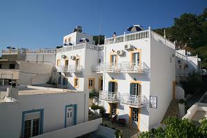 Leros, hotel Elefteria