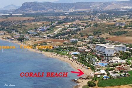 Corali Beach Hotel in Skaleta Rethymno