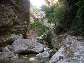 Lefkas, Lefkada, Nidri waterfall, Nidri Waterval