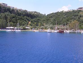Lefkas, Lefkada, Vlicho Lake, Meer van Vlicho