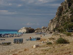 Lefkas, Lefkada, Kathisma Beach