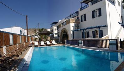 Markos Hotel in Ios