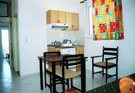 Mary Beach Apartments, Frangokastelo