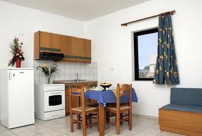 Nanakis Beach Luxury Apartments, Stavros Beach, crete, Kreta.