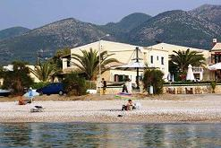 Corfu, Salvanos Apartments, Acharavi Beach