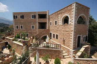 Samonas Traditional Settlement on Crete, Kreta.