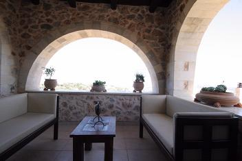 Samonas Traditional Settlement on Crete - One Bedroom Villa Malotira, Crete.