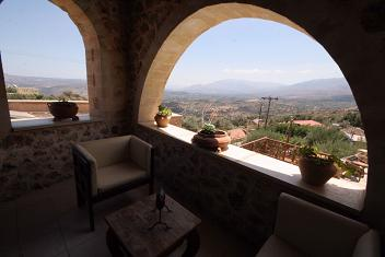 Samonas Traditional Settlement on Crete - One Bedroom Villa Faskomilia, Crete.