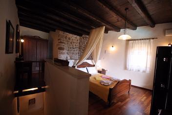 Samonas Traditional Settlement on Crete - One Bedroom Villa Faskomilia, Crete.
