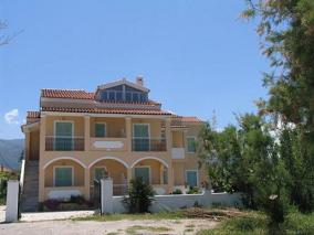Corfu, Vlachos Apartments, Acharavi Beach
