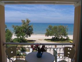 Corfu, Vlachos Apartments, Acharavi Beach