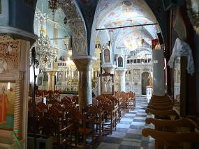 Chios, Kimisis Church in Pirgi