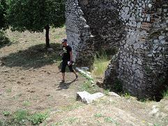 Corfu, webmaster Hans Huisman in Benitses