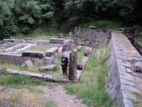 Corfu, webmaster Hans Huisman, temple at the Mon Repos Palace