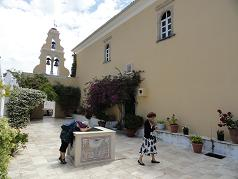 Corfu, Monastery of the Blessed Virgin Mary, Paleokastritsa