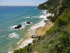 Corfu, Mirtiotissa Beach