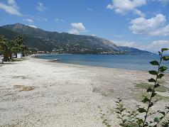 Corfu, Imerolia Beach