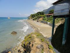 Corfu, Prassoudi Beach