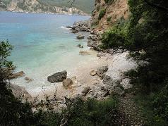 Corfu, Klimatia Beach, Liapades