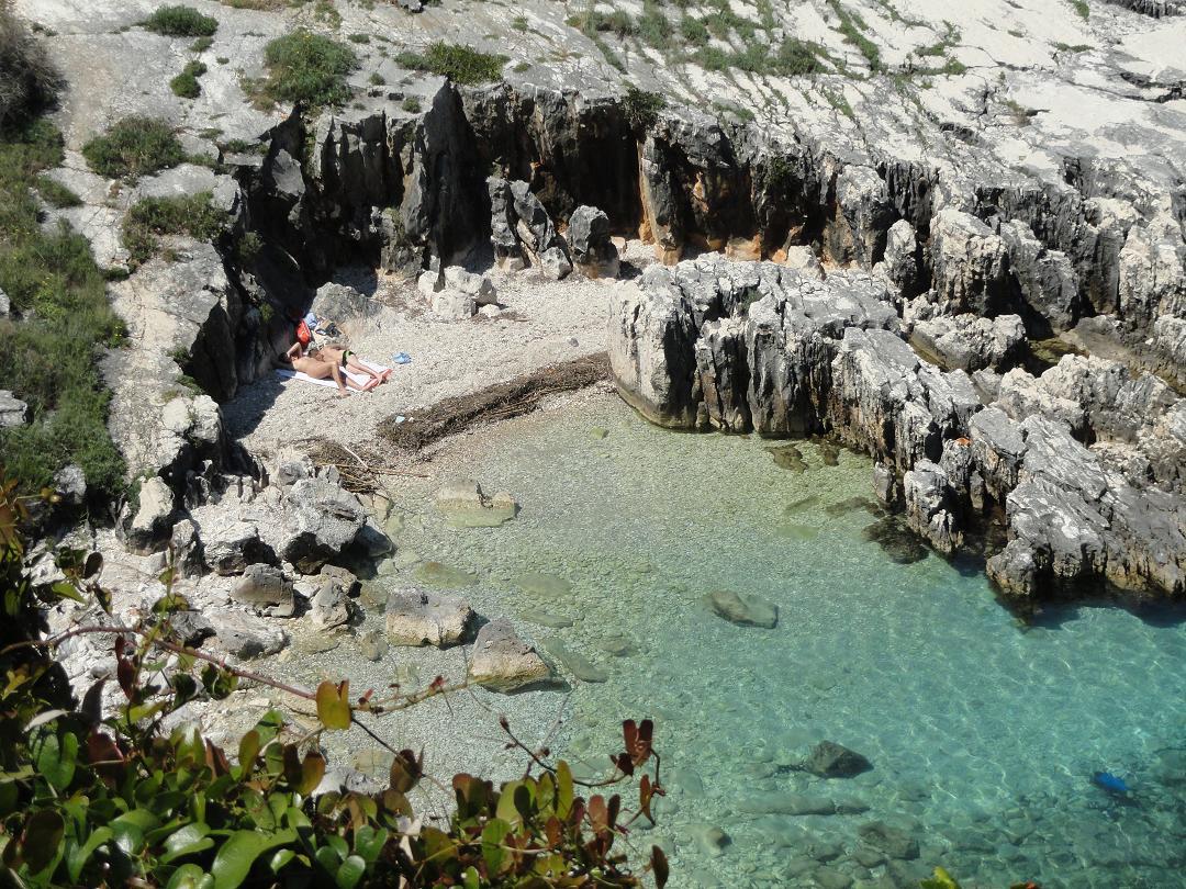 Gay beach north corfu