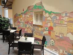 Corfu, Bella Vista Hotel & Studios in Benitses