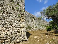 Corfu, Gardiki Fortress