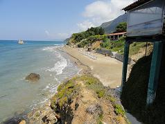 Corfu, Prasoudi Beach