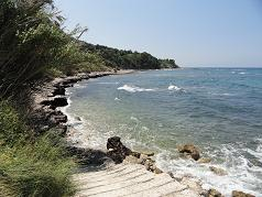 Corfu, Paramonas Beach