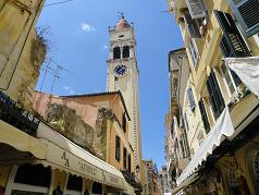 Corfu Town, St. Spiridon Church