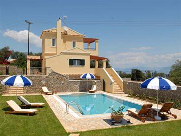 Corfu, Dassia Villas