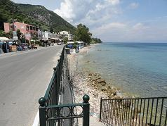 Corfu, Benitses, Agios Ioannis Periston Beach