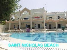 Corfu, Saint Nicholas Beach Apartments
