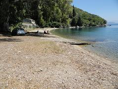 Corfu, Kouloura, Chouchoulio Beach