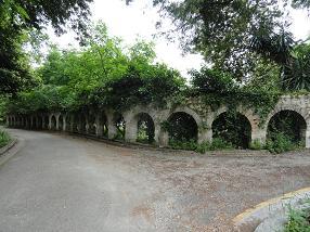 Corfu Town, Mon Repos, aquaduct