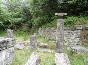 Corfu Town, Mon Repos, Poseidon temple