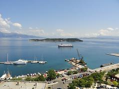 Corfu, Ptychia, Vidos, Vido island