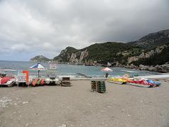 Corfu, Liapades Beach